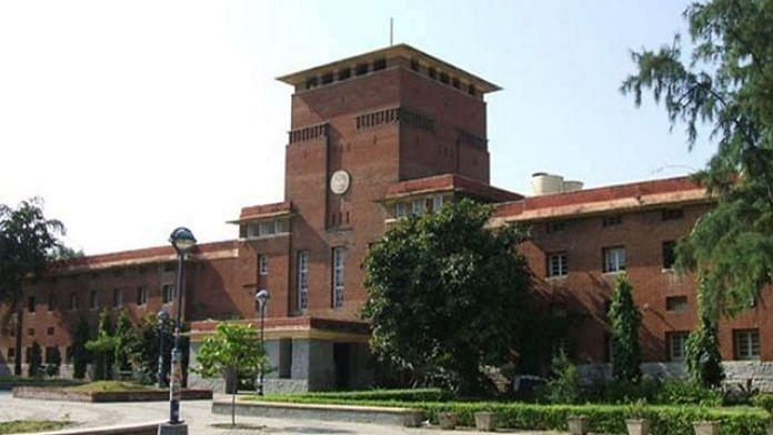 Representational image of the Delhi University Arts Faculty | Photo: Commons