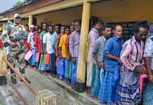 People waiting in a line in Assam (representational image)