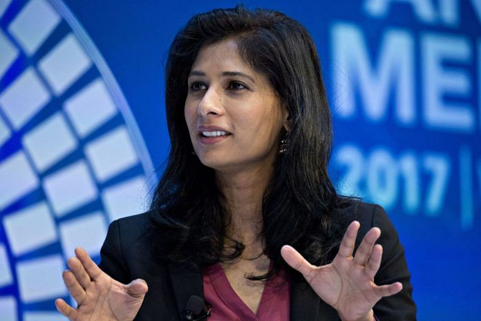 File image of Gita Gopinath | Andrew Harrer/Bloomberg