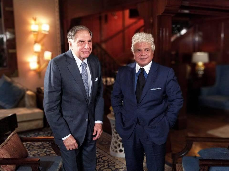 Suhel Seth with Ratan Tata