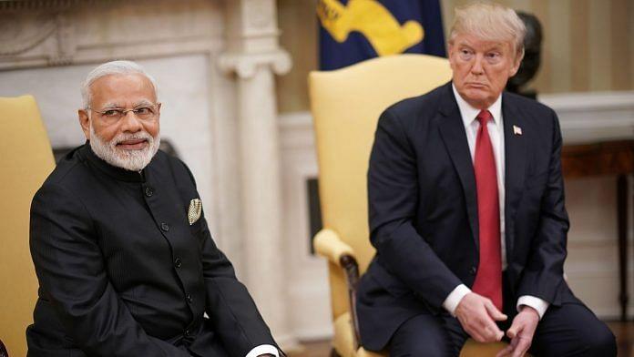 Narendra Modi and Donald Trump in Washington | Win McNamee/Pool via Bloomberg