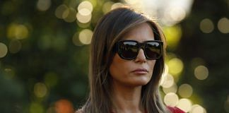 U.S. First Lady Melania Trump | Yuri Gripas/Bloomberg