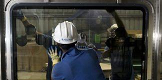 A manufacturing plants for trains | Udit Kulshrestha/Bloomberg