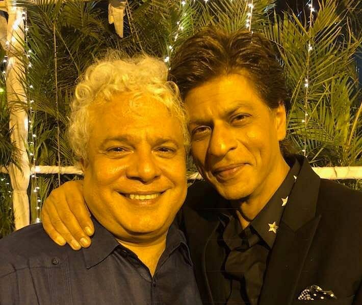 Suhel Seth with Shah Rukh Khan