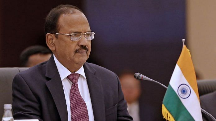 National Security Advisor Ajit Doval | ATTA KENARE/AFP/Getty Images