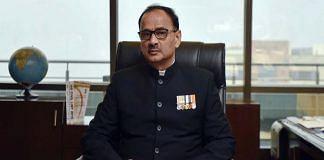 Alok Verma at CBI Headquarter, New Delhi | Ravi Choudhary/Hindustan Times via Getty Images