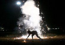 Fireworks during Diwali celebrations (representational image) | Allison Joyce/Getty Images