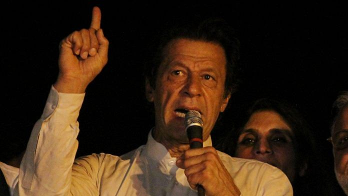 Pakistan Prime Minister Imran Khan | Rana Sajid Hussain/Pacific Press/LightRocket via Getty Images