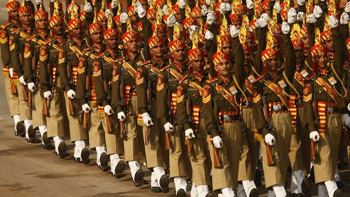 Indian army soldiers | Representational image | Daniel Berehulak/Getty Images