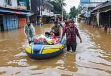 People being rescued from flood-affected regions in Kochi | PTI