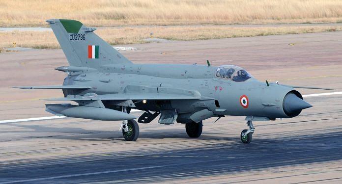 MiG 21 aircraft