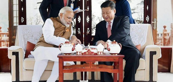 Prime Minister Narendra Modi with Chinese President Xi Jinping | PTI