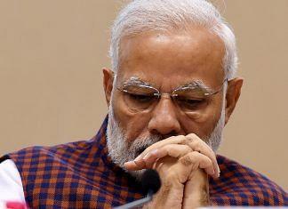Prime Minister Narendra Modi at the silver jubilee celebration of National Human Right Commission, in New Delhi,