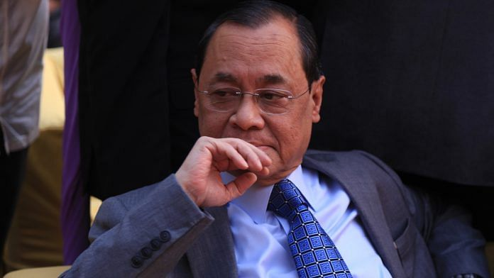 File photo of Chief Justice of India, Ranjan Gogoi | Manisha Mondal/ThePrint