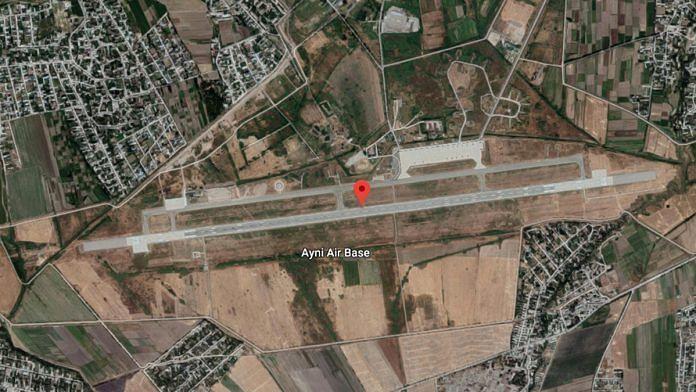 Ayni airbase