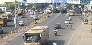 A highway in Tamil Nadu