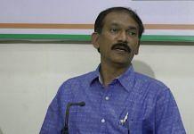 File image of Goa Congress President Girish Chodankar | YouTube