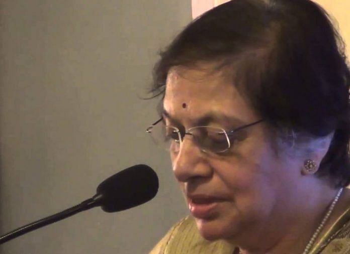 File image of Sujata Manohar | YouTube