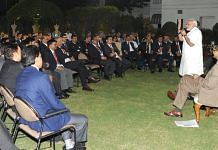 Prime Minister Narendra Modi interacts with IAS officers participating in a training programme in New Delhi | pmindia.gov.in