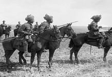 Indian soldiers during the first World War