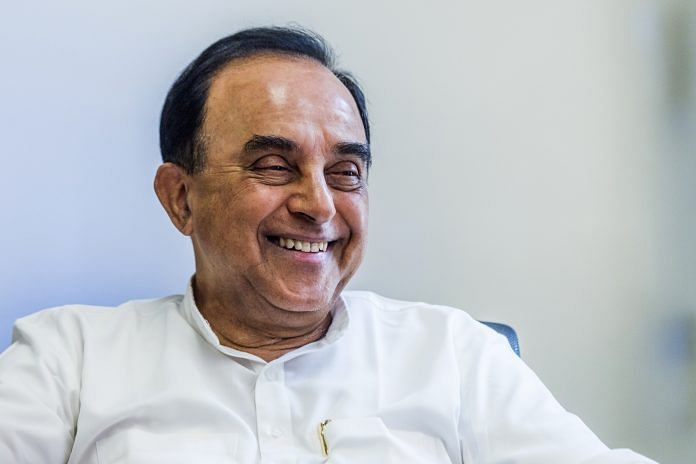Subramanian Swamy | Bloomberg