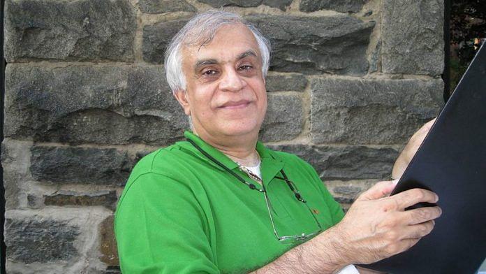 JNU professor Rajiv Malhotra