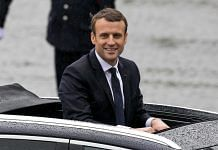 The French President Emmanuel Macron   Marc Piasecki/Getty Images