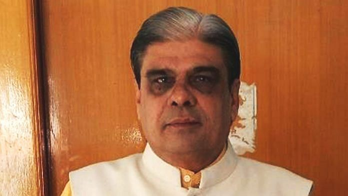 Haribhai Chaudhary, four-time BJP MP who has been accused of corruption by CBI DIG