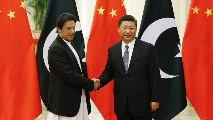 Chinese President Xi Jinping meets Pakistani Prime Minister Imran Khan in Beijing, China | Thomas Peter-Pool/Getty Images