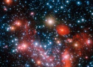 The central parts of Milky Way through Very Large Telescope | ESO/S. Gillessen et al.