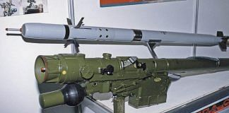 Igla-S man-portable air defence missile system