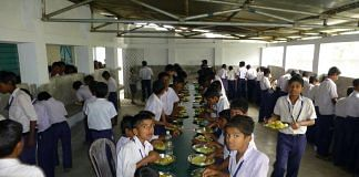 Representational image for the mid-day meal scheme   Photo: HRD ministry   Facebook