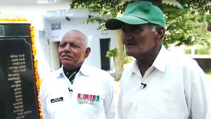Havaldar Nihal Singh and Captain Ramchander Yadav