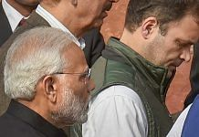 File photo | Prime Minister Narendra Modi, and Congress President Rahul Gandhi at Parliament House | PTI
