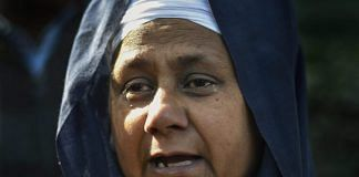 Nirpreet Kaur, whose father was killed in 1984, at Delhi High Court | PTI