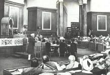 Constituent Assembly of India in session