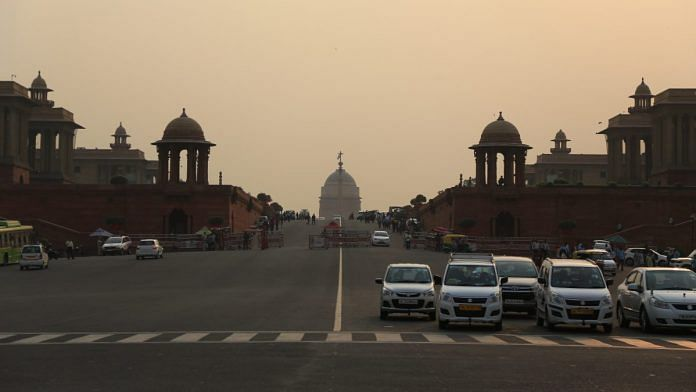 Representational image of the seat of the Indian government on Raisina Hill, New Delhi | Photo: Manisha Mondal | ThePrint