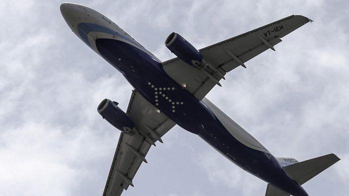 An IndiGo aircraft   Dhiraj Singh/Bloomberg