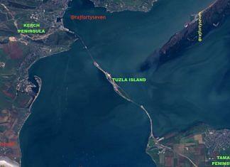 The Kerch strait bridge in Tuzla island | Vinayak Bhat/ThePrint
