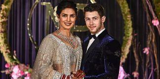 Priyanka Chopra and Nick Jonas in New Delhi | PTI
