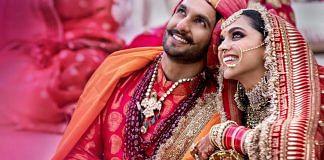 Bollywood actors Deepika Padukone and Ranveer Singh during their wedding ceremony   PTI