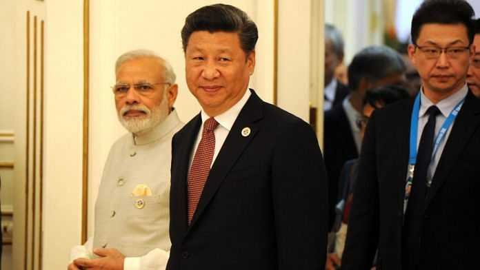 File image of PM Narendra Modi and Chinese President Xi Jinping