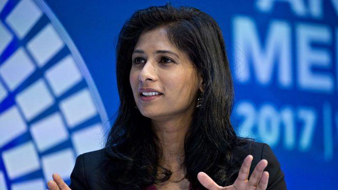 File image of IMF Chief Economist Gita Gopinath | Photo: Andrew Harrer | Bloomberg