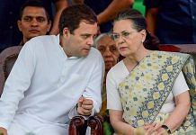 File image of Rahul Gandhi and Sonia Gandhi