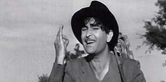 Raj Kapoor in a still from Shree 420 | Twitter