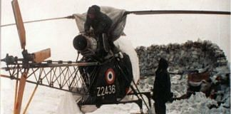 The unserviceable Cheetah helicopter at Amar | Air Vice Marshal Manmohan Bahadur VM (retd)