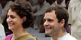 File image of Priyanka Gandhi and Rahul Gandhi | @SanjaySDutt/Twitter