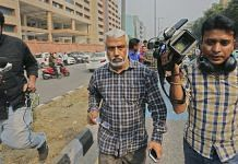File photo of A K Bassi outside CBI headquaters | PTI