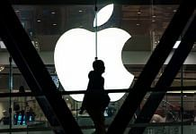 The Apple Inc. logo is displayed at one of the company's stores in Hong Kong | Anthony Kwan/Bloomberg