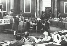 Constituent Assembly of India in session | Wikipedia